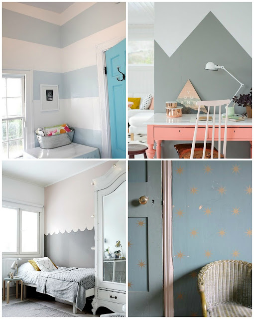 ideas diy pintura paredes formas