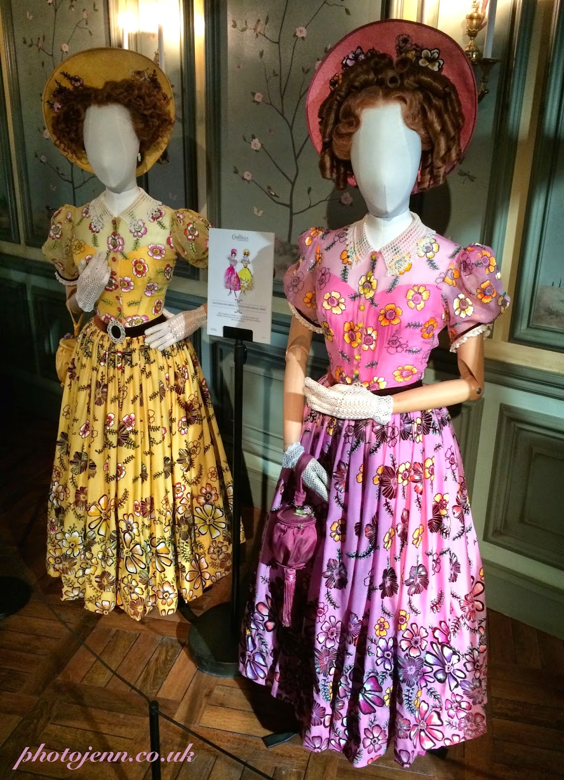 Cinderella-exhibition-london-movie-ugly-sisters-dresses