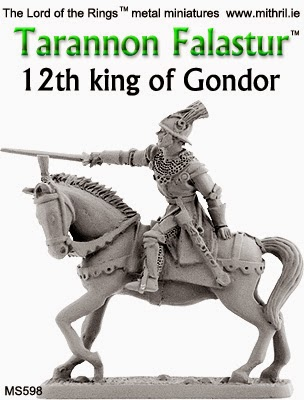 MS598 Tarannon Falastur, 12th king of Gondor.