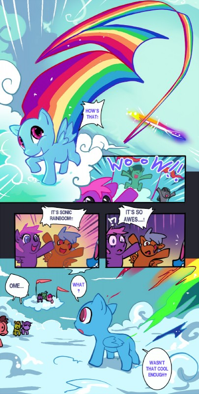 Rainbow Dash Cartoon