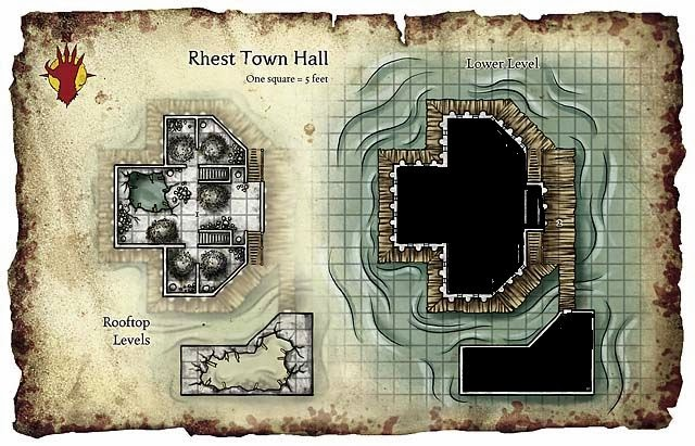 5e Dnd Mansion Roof D D Tower Construction Interior An