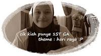 1st GA dari Cik Kiah Ronggeng
