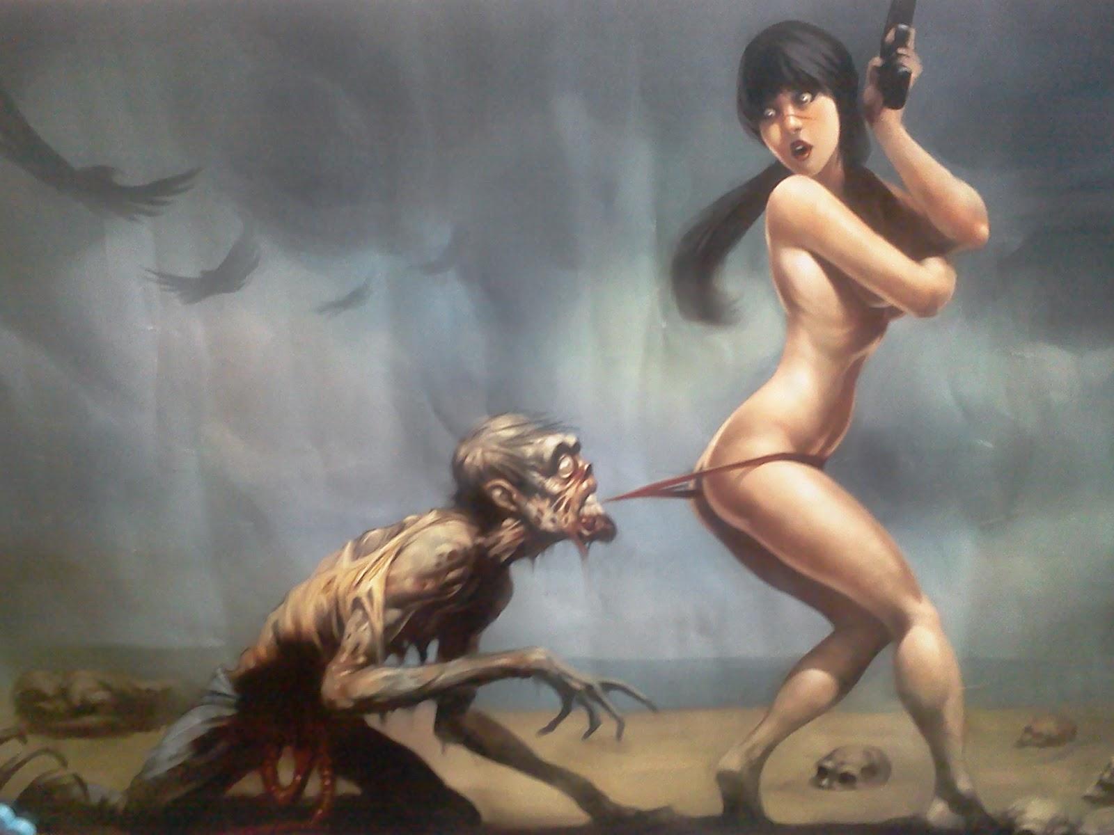Чудовище ебёт девушку, Девушку трахает морской монстр (видео) 2 фотография