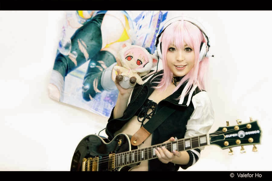Cosplayer Super Sonico Fan's