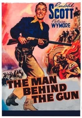 The Man Behind the Gun Cover