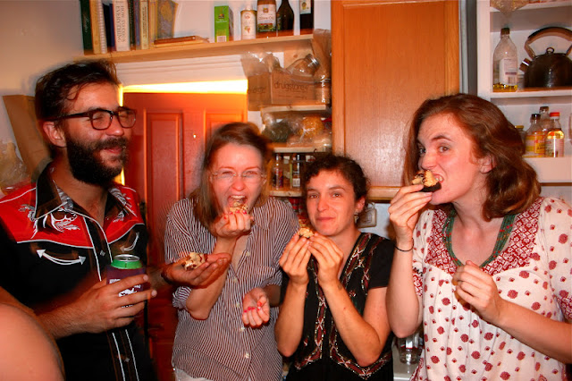 Pie Eaters at Joe Overton's Going Away Party