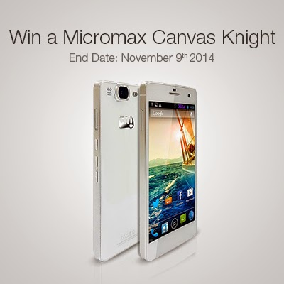 Just answer a simple question and win a Micromax Canvas KNight