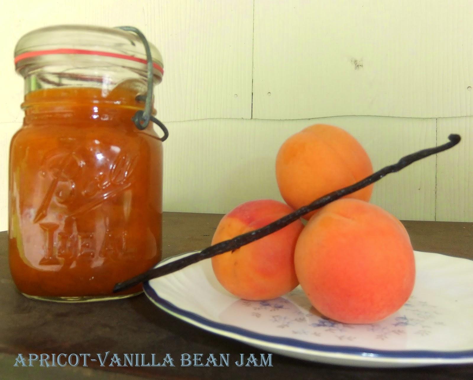 Apricot-Vanilla Bean Jam