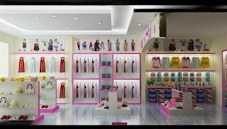 Thiết kế và thi công nội thất shop bella tại Quảng Nam