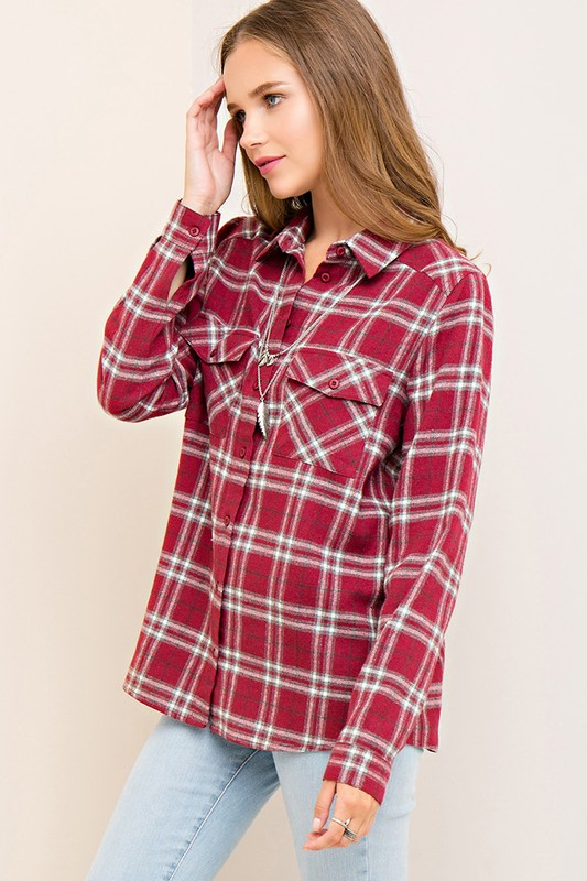 Plaid Flannels Rule (Winter Spring Summer or Fall!)