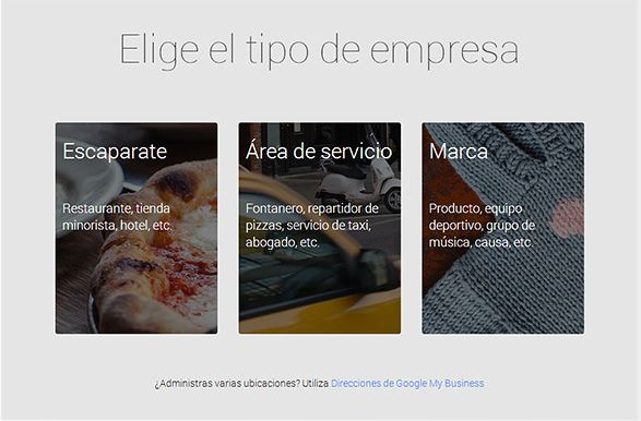 Google my business paso 3