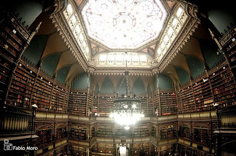 Biblioteca Real Gabinete Portugues de Leitura Rio de Janeiro Brazil