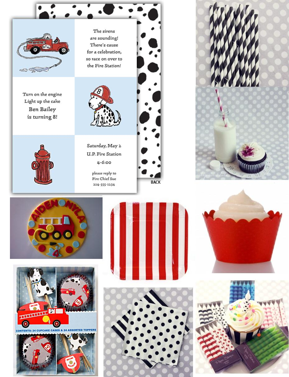 Firefighter Cupcake Decorations Sophisticated Stationery The Sirens Are Sounding Firefighter