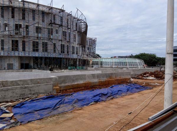 one belpark Mall progress 2