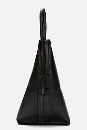 http://www.ssense.com/men/product/rick_owens/black_leather_single_strap_bucket_bag/91653