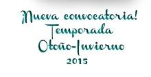 Convocatoria Otoño-Invierno 2015