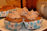 zitne cokoladove muffiny s tofu kremem