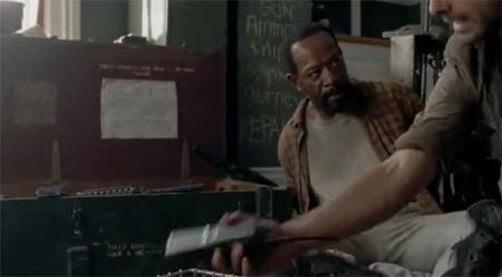 The Walking Dead 3x11 - Clear - Lennie James es Morgan