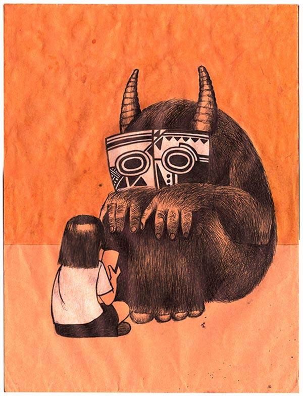 Ilustración, Reading de Arturo Mejía