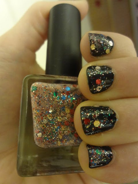 confetti nail polish, Lollipop nail polish
