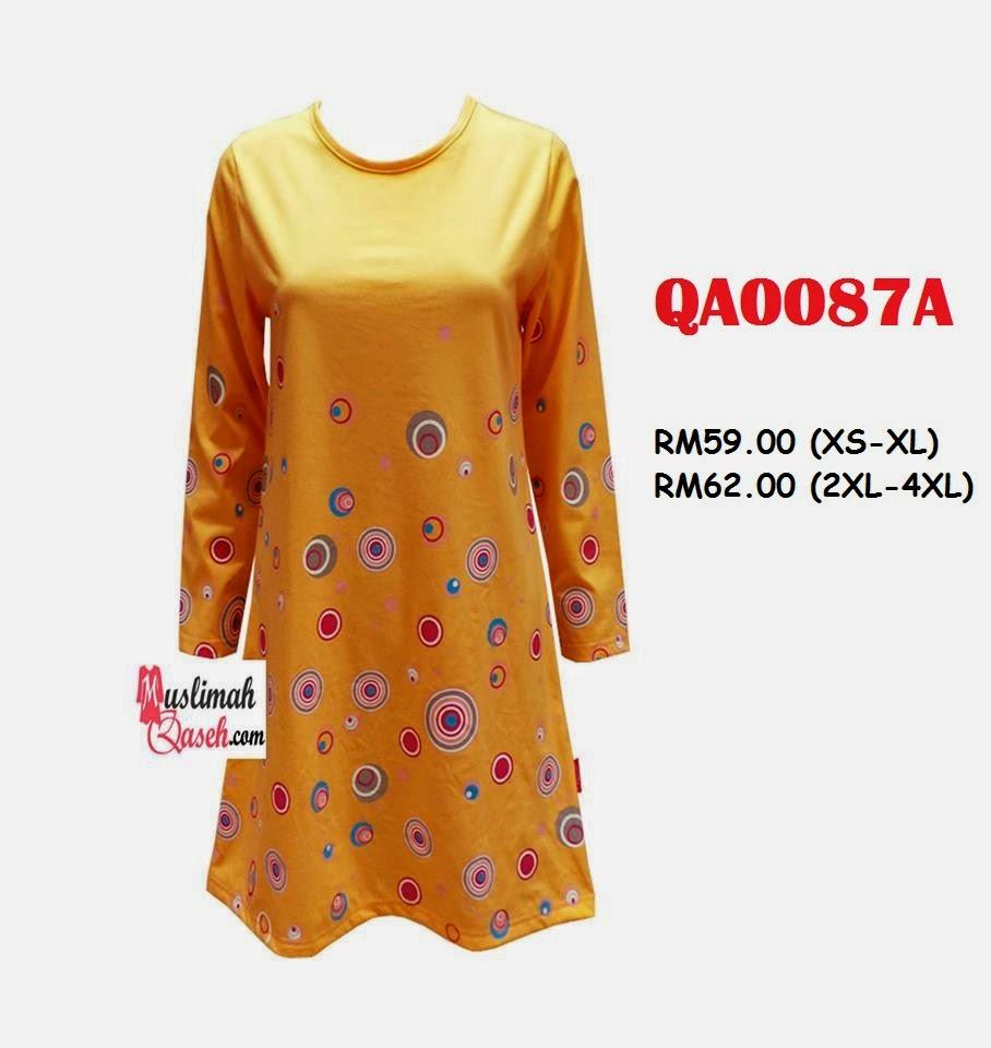 T-Shirt-Muslimah-Qaseh-QA0087A