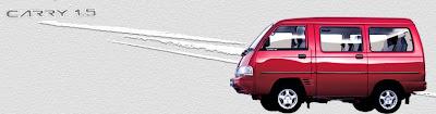 klik gambar untuk informasi harga, brochure , warna, spesifikasi carry real van