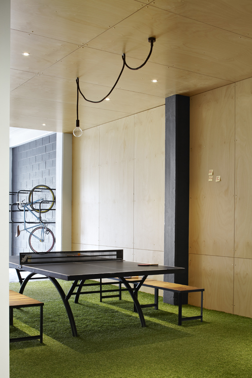 Bicycle storage as a quality space respected and symbolises sustainability