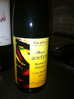 Zoeller winery, Riesling 2010, Alsace