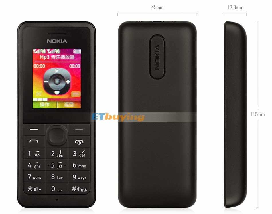 Nokia 107 Specifications and Review