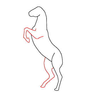 how to draw a unicorn head step by step