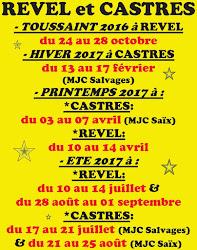 Stages de Cirque 2016 - 2017