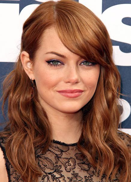 heatherlydee: emma stone red. | 436 x 605 jpeg 75kB