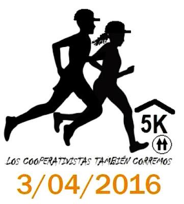 5k Los cooperativistas también corremos (Prado de Montevideo, 03/abr/2016)