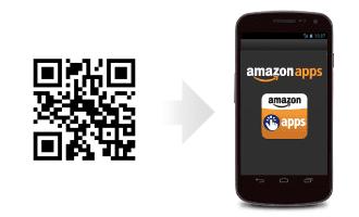 Usa este código para descargar la aplicación de Amazon Appstore.