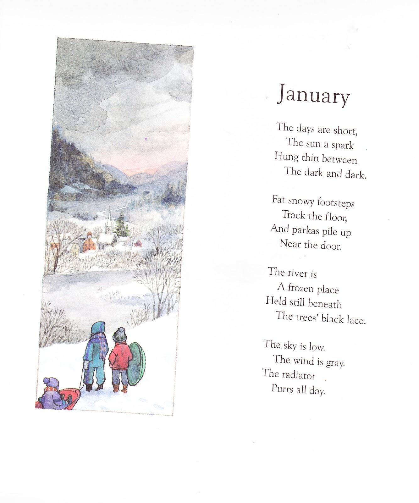 Monthly Calendar Rhyme : The marlowe bookshelf a child s calendar