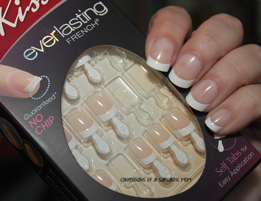 Kiss Everlasting French Press-on Nails | Confessions of a Sarcastic Mom