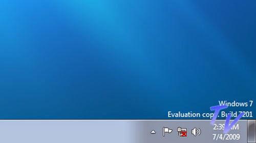 Watermark Windows 7