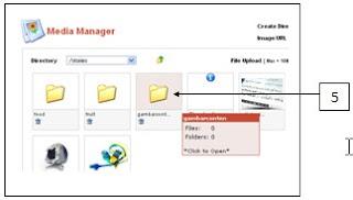 Joomla: Cara Upload Gambar ke dalam Media Manager di Joomla.
