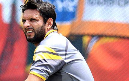 Shahid Afridi Said The decision to drop me from the side is taken by the captain Misbah-ul-Haq