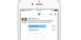 تويتر تفعل ميزة استطلاع الجمهور والاستفتاء لجميع مستخدميها
