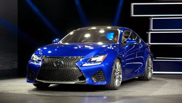 Lexus shows the new RC -F