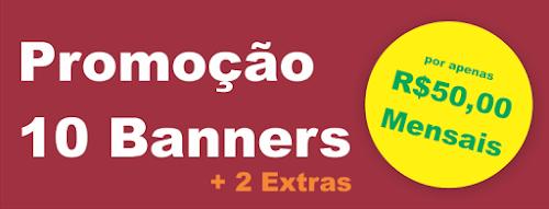 Promoção: Criação de Banners por R$50,00 Mensais