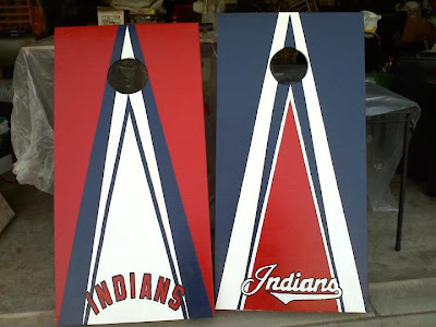 Indians Corn Hole Game Set