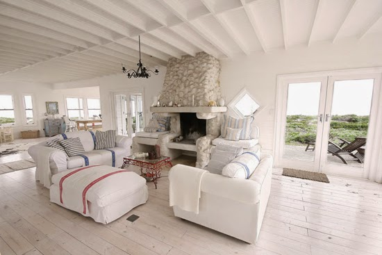 Safari Fusion blog | Whitewash | Coastal style whitewashed timber at The Lighthouse Yzerfontein, South Africa