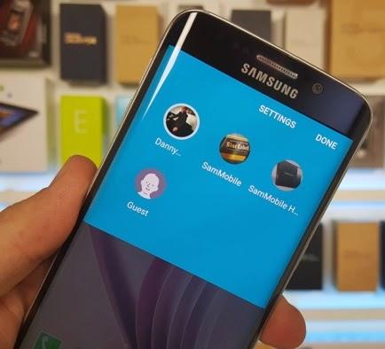 Fitur Guest Mode Untuk Update Android 5.1 Lollipop Pada Samsung Galaxy S6 dan S6 Edge