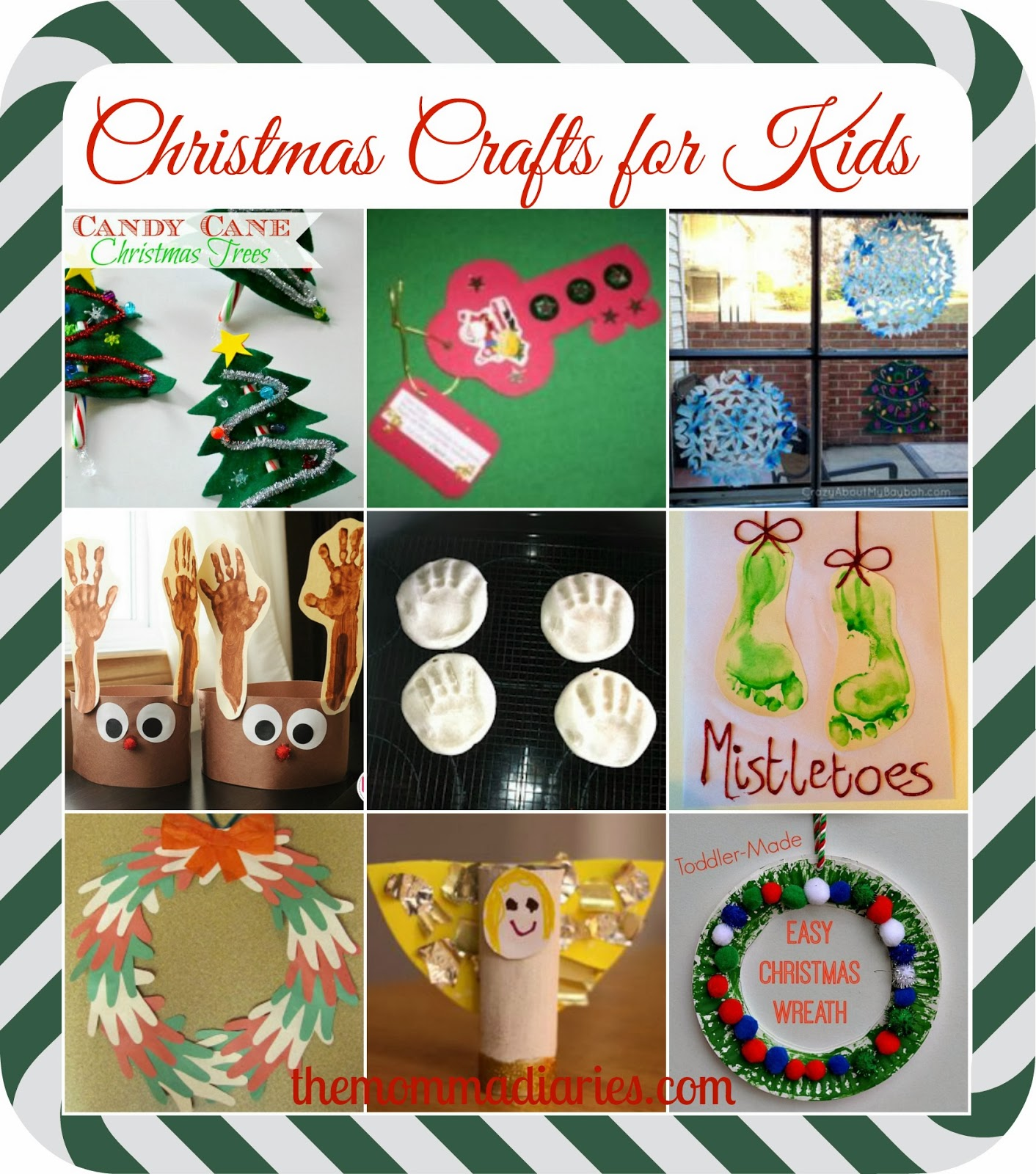 ... of my favorite Christmas crafts for kids, via Pinterest {of course