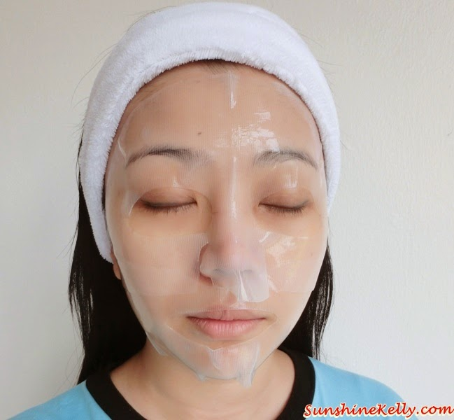 Nature Republic, Snail Solution Hydrogel Mask, Be Merry& Bright, Beauty 2015, Beauty Review, Korean Mask