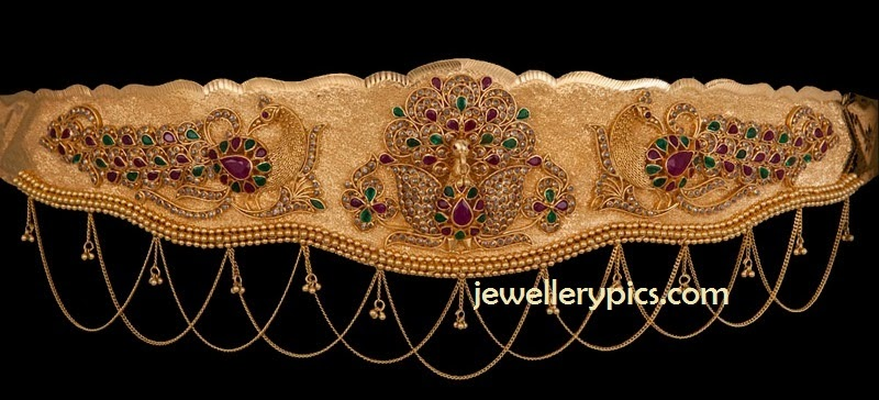 uncut diamond vaddanam by avr swarnamahal