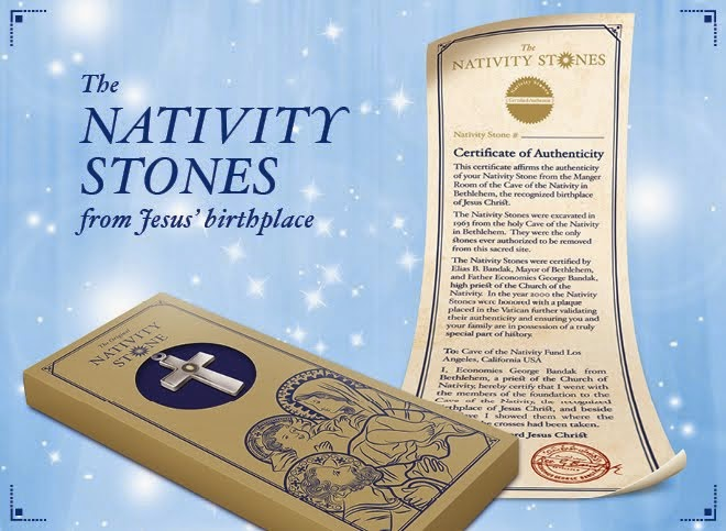 Special offer from Nativity Stones Crosses