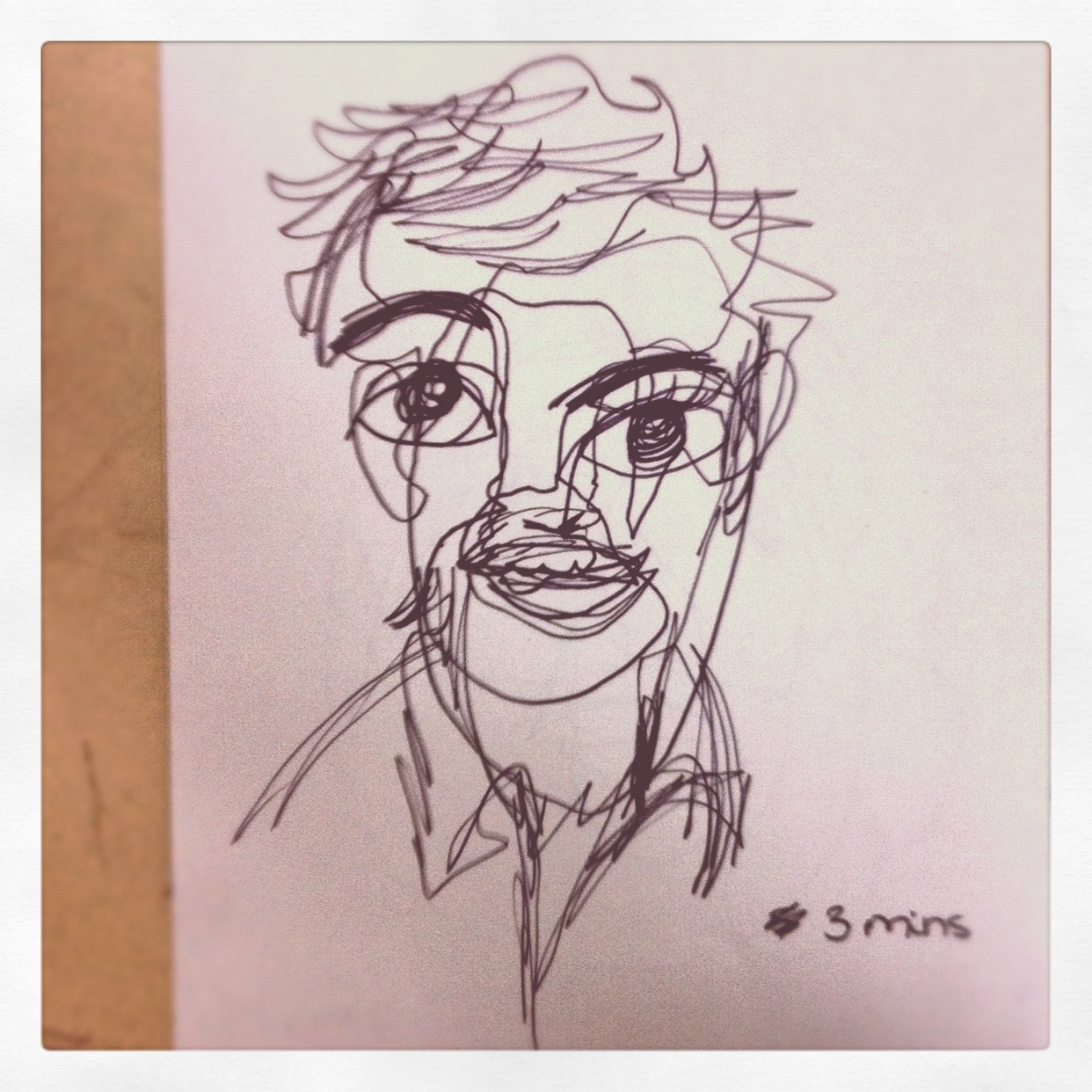 Line Drawing Year 1 : The art room continuous line drawing by dorsa in year
